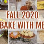 FALL BAKE WITH ME + EASY FALL DESSERT RECIPES | HOMEMAKING MOTIVATION 2020