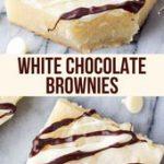 White Chocolate Brownies