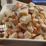Tasty and Healthy Russian Salad Recipe   Best for all parties   By Cooking Parlour