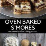 Anna Olsen's Oven Baked S'mores – Easy recipe