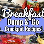 *FOUR* SIMPLE CROCKPOT BREAKFAST IDEAS | DUMP & GO SLOW COOKER RECIPES | JULIA PACHECO