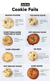 Chocolate Chip Cookie Fails