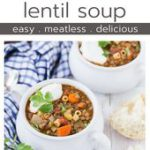 Lentil Soup Recipe with Pasta