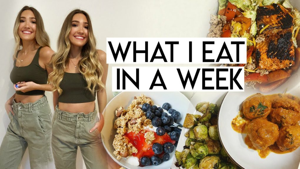 WHAT I EAT IN A WEEK | healthy-ish, balanced, realistic meals!
