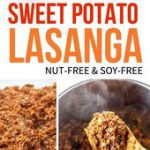 This Vegan Sweet Potato Lasagna is loaded with plant-based protein, and uses thi…
