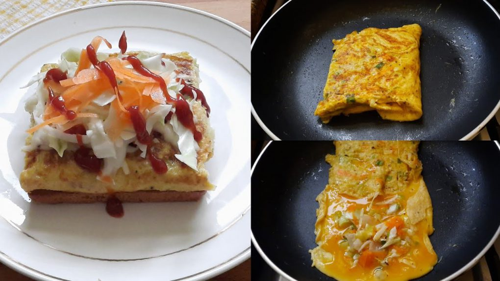 5 Minutes Breakfast Recipe  Quick And Easy Breakfast Recipe by Spark Of Taste  Cabbage Toast Recipe