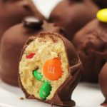 No-Bake Chocolate Peanut Butter M&M Balls | These M&M Treats Will Change…