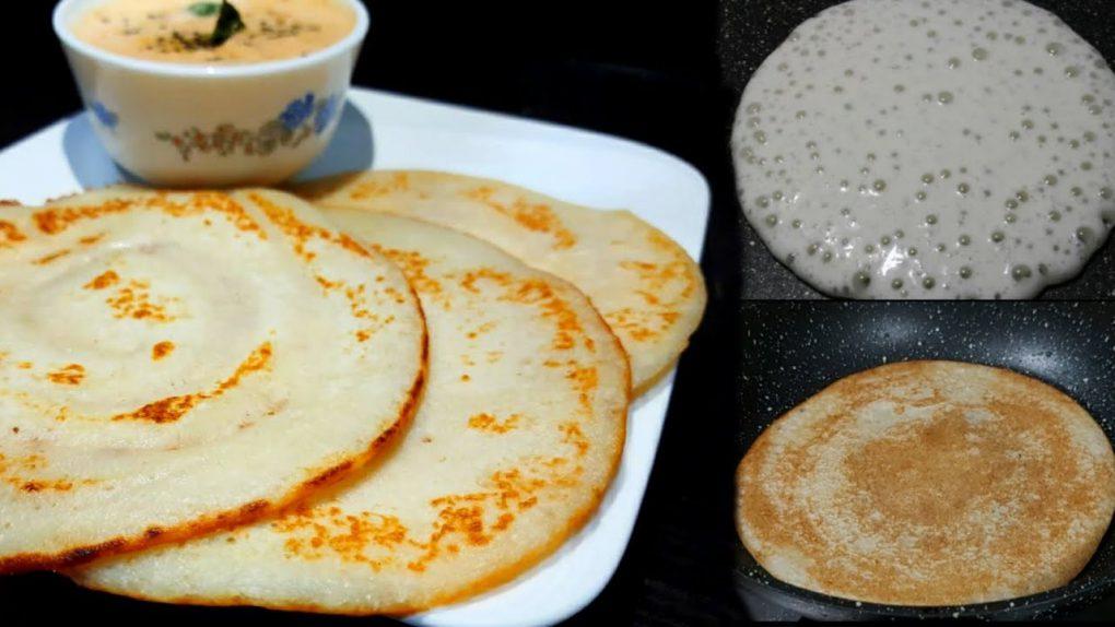 10 min Recipe – Quick & Easy Breakfast recipe – No Soaking , No fermenting required