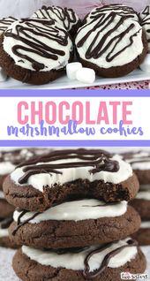 Springtime Chocolate Cookies