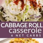 Cabbage Roll Casserole – Unstuffed Cabbage Rolls – That's Low Carb!?