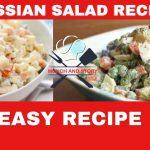 Russian Salad Recipe | Russian Fruit Salad Recipe Hindi/Urdu