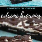 Cookies 'n Cream Extreme Brownies