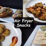 Indian Vegetarian Recipes For Air Fryer/4 Easy Vegetarian Air Fryer Recipes/Air Fryer Veg Snacks