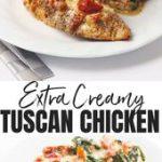 Crock Pot Creamy Tuscan Garlic Chicken Recipe