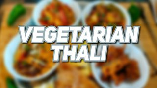 VEG THALI | Machrina's Kitchen | 4 Vegetarian Recipes| Curry Lunch Menu In English with subtitles