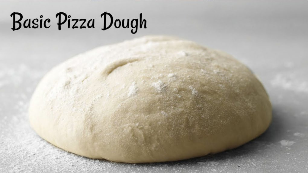 Perfect Pizza Dough Recipe   Basic Pizza Dough Recipe   Quick & Easy Homemade Pizza dough