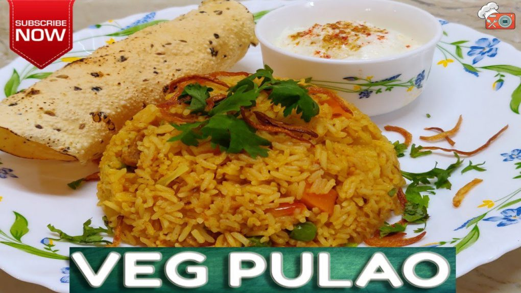 Vegetable Pulao | Quick & Easy To Make Main Course Recipe | Easy Rice Recipes