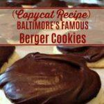 BALTIMORE'S FAMOUS BERGER COOKIES (COPYCAT RECIPE)