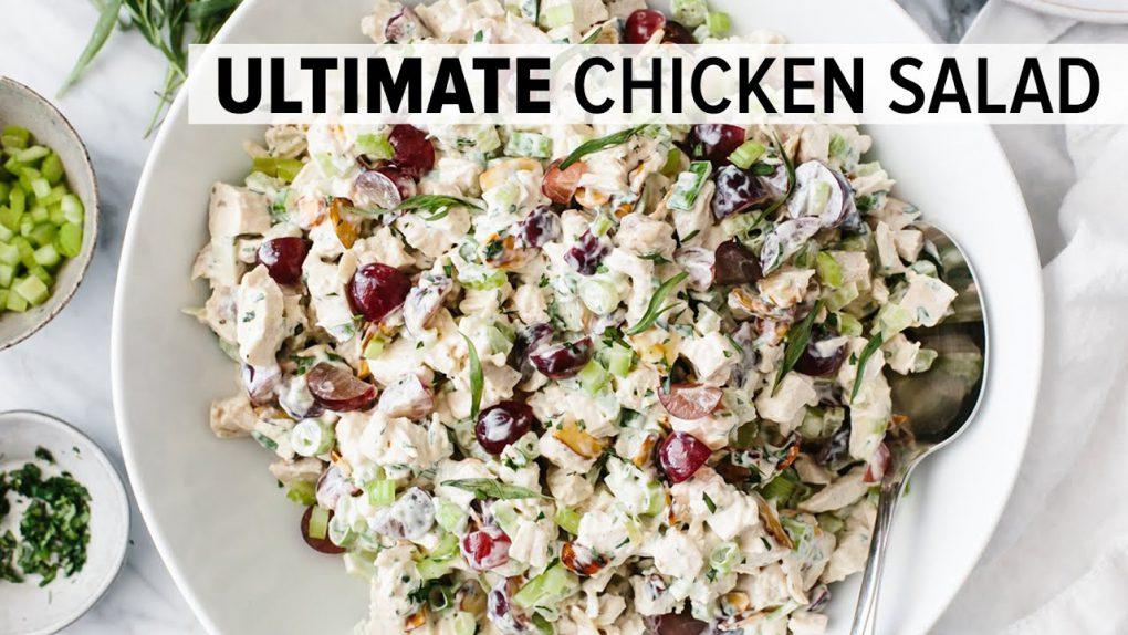 BEST CHICKEN SALAD RECIPE   easy & healthy