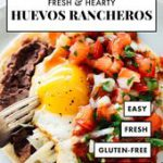 These huevos rancheros are the best! Huevos rancheros are made corn tortillas an…