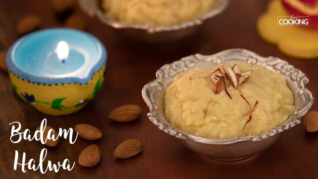 Badam Halwa   Quick Sweet Recipes   Diwali Recipes