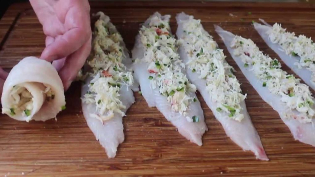 Crab Stuffed Sole Recipe – Baked Sole with Crab Stuffing