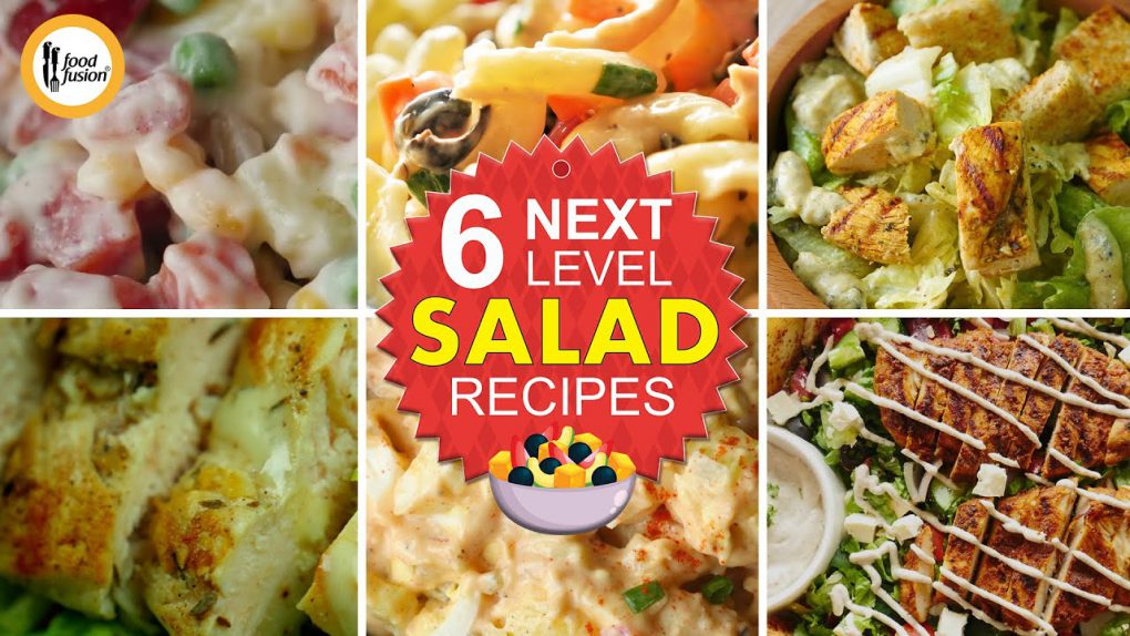 Next Level Salad Recipes By Food Fusion