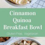 Cinnamon Quinoa Breakfast Bowl #quinoa #breakfast #healthybreakfast #glutenfree …