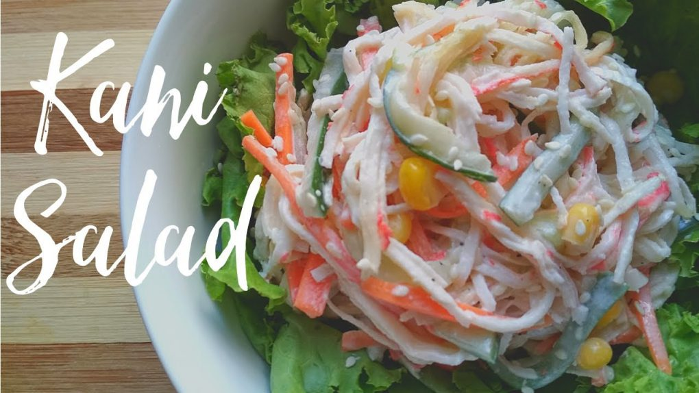 Japanese Kani Salad Recipe   Healthy Foodie