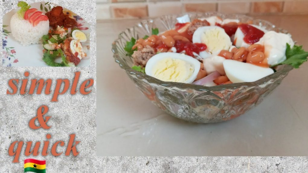 HOW TO PREPARE VEGETABLE SALAD   SIMPLE GHANAIAN SALAD RECIPE + HEALTH BENEFITS   cook with me