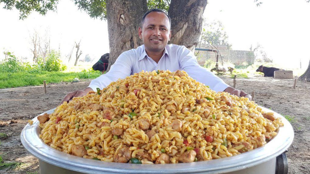 Chicken Macaroni Recipe I Quick and Delicious Macaroni By Mubashir Saddique   Village Food Secrets