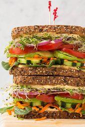 Best Vegetarian Sandwich Recipes – Filling Vegetable Meals