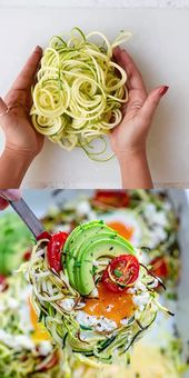 BAKED ZOODLE EGG NESTS