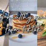 BEST HEALTHY RECIPES TIKTOK COMPILATION 2020