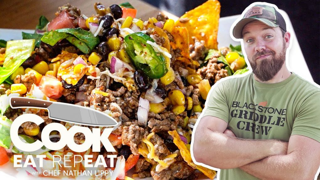 The Best Taco Salad Recipe – Just Like Mama Used To Make   Cook Eat Repeat   Blackstone Griddles