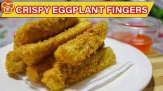 How to Cook Crispy Eggplant Fingers | Pinoy Easy Recipes
