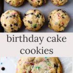Birthday Cake Cookies