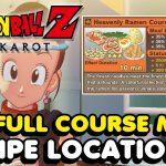 DBZ Kakarot – All Recipe Locations (Full Course Meal Recipes)