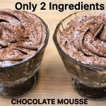 Only 2 Ingredients Chocolate Mousse in 15 Minutes | Chocolate Dessert Recipe | Chocolate Mousse