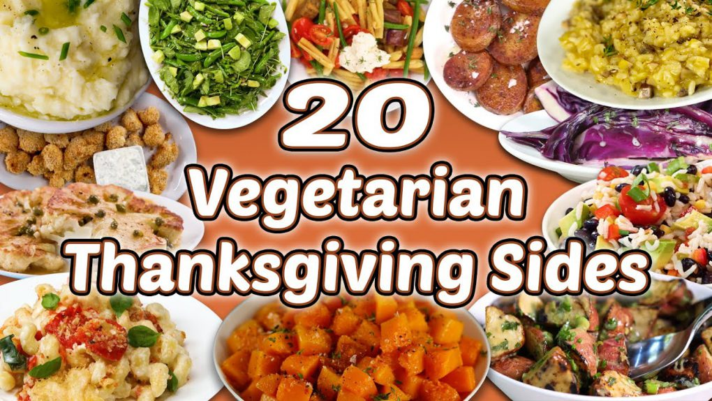 20 Vegetarian Thanksgiving Sides | Holiday Vegetable Side Dish Recipe Compilation | Well Done