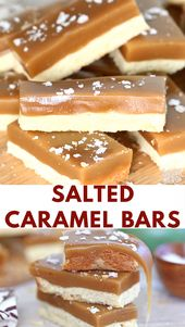 Salted Caramel Bars Video