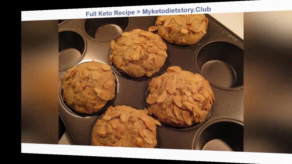 Keto Recipe Prepare Delicious Almond Muffins