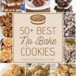 50 Best No Bake Cookies #desserts #recipes #cookies…
