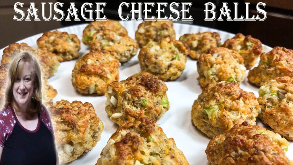 SAUSAGE CHEESE BALLS RECIPE | Holiday Appetizers | Jimmy Dean Original Recipe