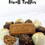 No bake vegan Biscoff cheesecake truffles. Super kid-friendly dessert with only …