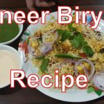 Paneer Biryani Recipe – Restaurant Style | Indian Main Course Recipes