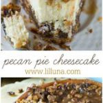 If you love Pecan Pie, you'll love this Cheesecake! This cake has vanilla wafers…
