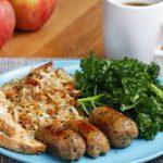 Vegetarian Breakfast Apple Sausages Recipe by Tasty…
