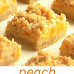 Peach Crumble Bars – Pastry & Beyond