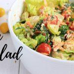 TUNA SALAD RECIPE | HEALTHY RECIPES